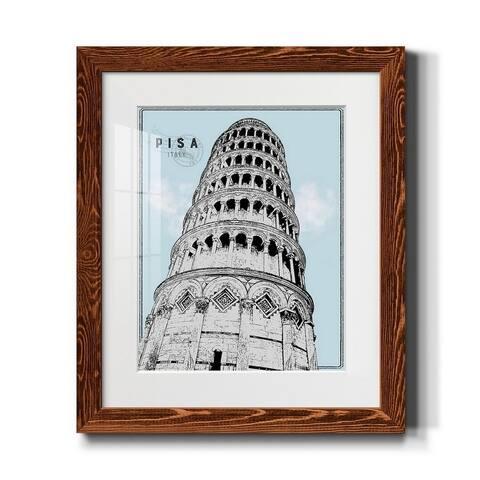 Mid Modern Pisa-Premium Framed Print - Ready to Hang