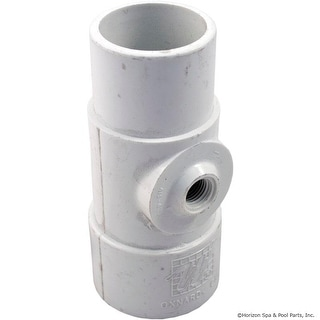 """Tee Adapter, 1-1/2""""s x 1-1/2""""spg x 3/8""""fpt"""