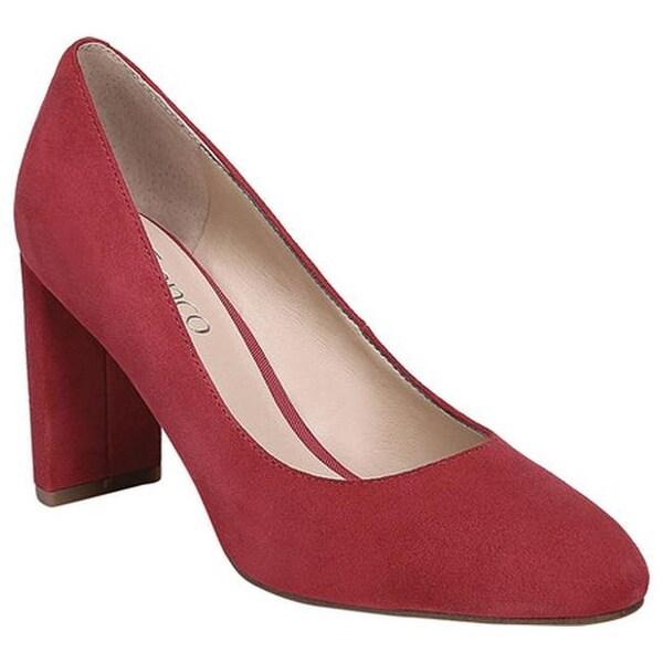 bf6c0b8d0171 Shop Franco Sarto Women s Vanity Pump Scarlet Diva Suede - Free ...