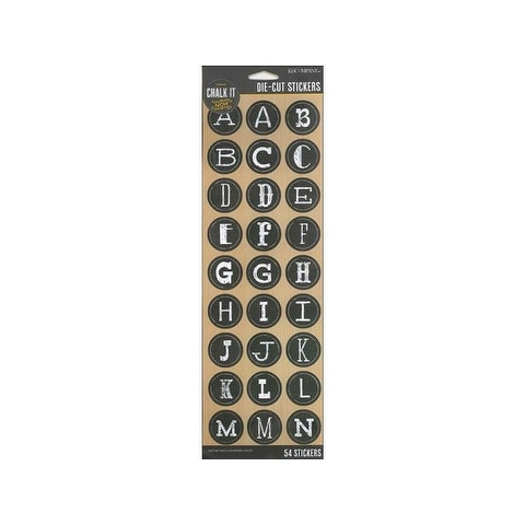 K&Co Chalk It Now Alphabet Uppercase