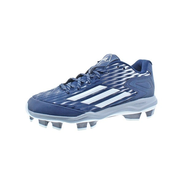 Adidas Womens PowerAlly 3 TPU Cleats Softball Iron Skin - 9 medium (b,m)