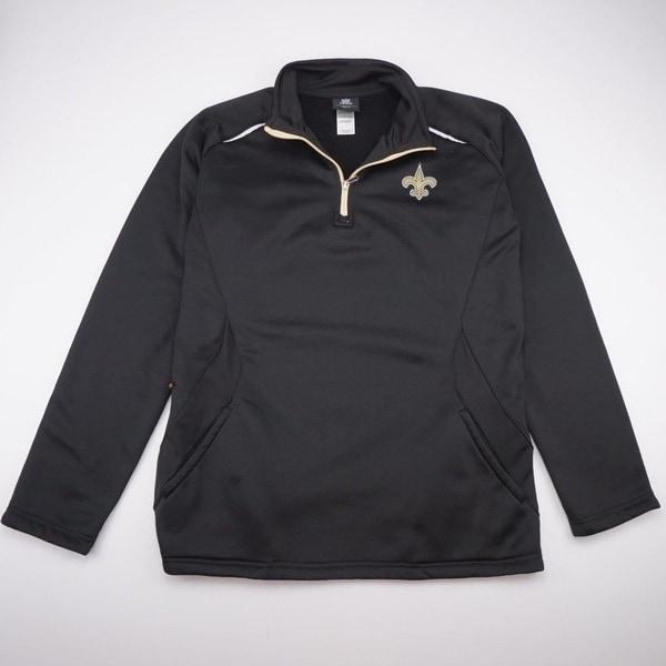 9ac80d5af NFL TEAM APPAREL Orleans Saints Fleece Lined Jacket YOUTH 18 XL