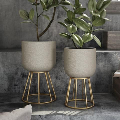 Reverie Modern Planters (Set of 2)
