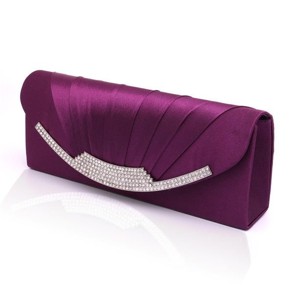Women/'s Elegant Tassel Pendant Silk Evening Party Clutch Bags Bridal Wedding Bag