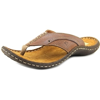 Josef Seibel Lance 01 Open Toe Leather Flip Flop Sandal