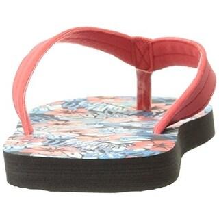 Osh Kosh Girls Tropica Flip-Flops Printed Floral Print