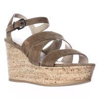 Via Spiga Kendall Platform Wedge Strappy Sandals, Rattan