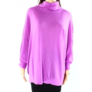 Lauren Ralph Lauren NEW Purple Womens Size XL Knit Turtleneck Sweater