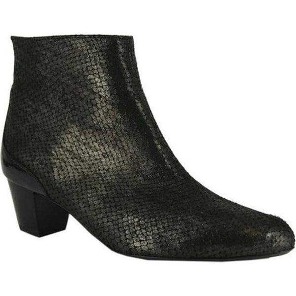 bda70b924d7f Shop ara Women's Leona 41468 Bootie Black Metallic Snake Print/Patent -  Free Shipping Today - Overstock - 20340732