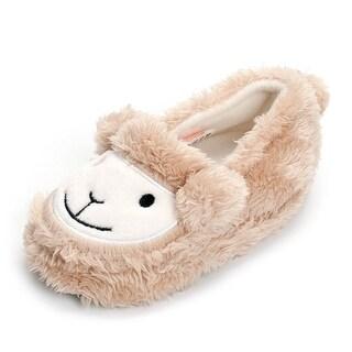 Estamico Toddler Boy's Premium Soft Plush, Beige Sheep, Size 7-8 M US Toddler