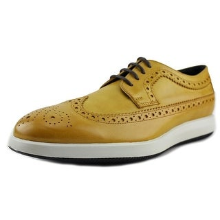 Hogan H209 Dress X Derby Bucature Wingtip Toe Leather Oxford
