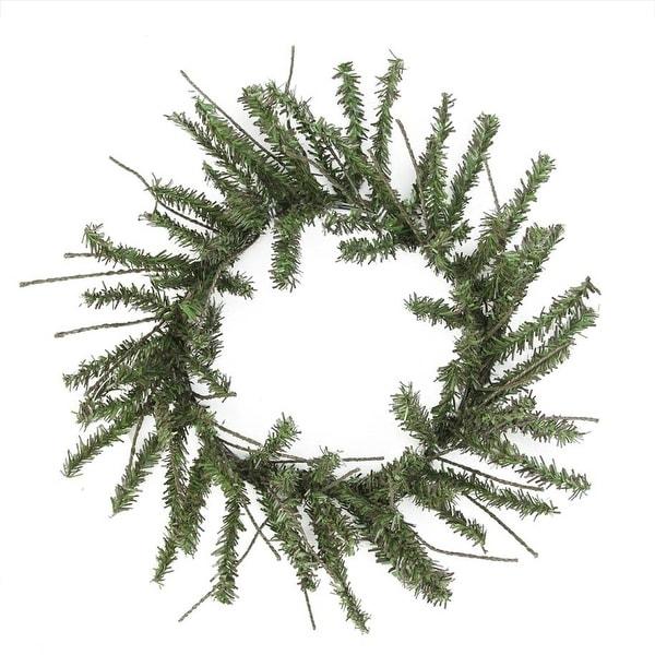 "12"" Mini Vienna Twig Artificial Christmas Wreath - Unlit - green"