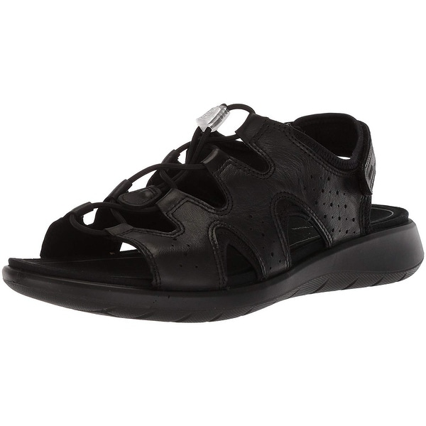 fbe408961dfa Shop ECCO Womens Soft 5 -218563 Open Toe Casual Slingback Sandals ...