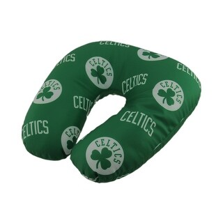 NBA Boston Celtics Beaded Travel Neck Pillow - Green