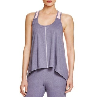 Jane & Bleecker Womens Sleep Tank Striped Racerback