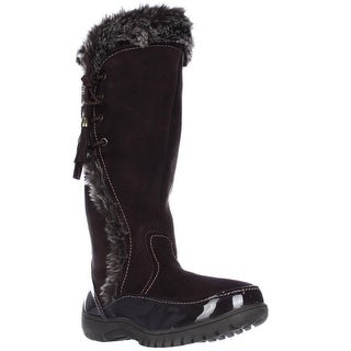 Sporto Side Winder Waterproof Cold Weather Boots, Chocolate