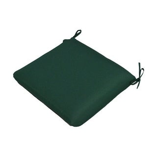 """Casual Cushion Corp 308-1455 Large Seat Pad, Forest Green, 19""""X18"""""""