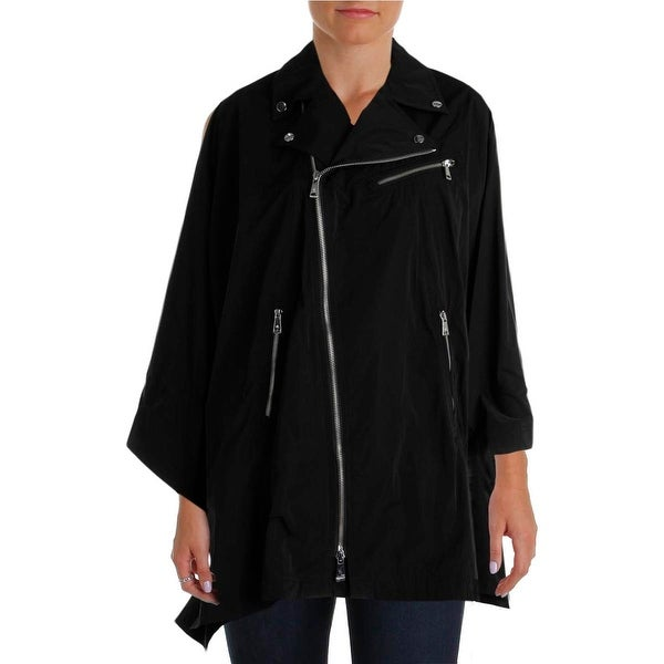Lauren Ralph Lauren Womens Cape Coat Lightweight Lined