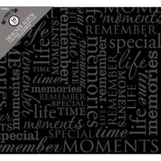 "Memories -Black - Colorbok Post Bound Album 12""X12"""