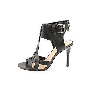 Guess Women's Hyanne Leather T-Strap Sandals