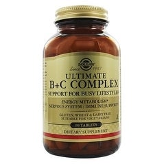 Solgar Ultimate B+C Complex (90 Tablets)