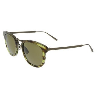 Bottega Veneta BV0019/S 001 Green-Bronze Square Sunglasses