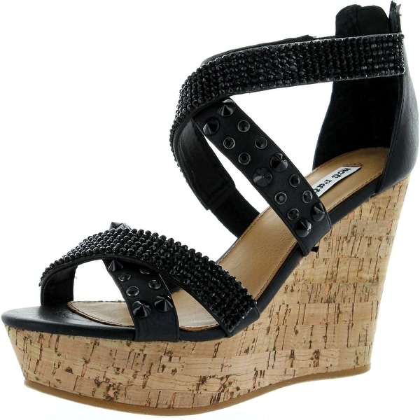 Not Rated Womens Can't Get Enough Wedge Sandals