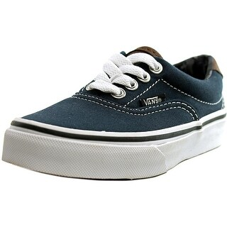 Vans Era 59 Youth Round Toe Canvas Blue Skate Shoe