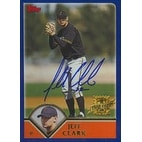 Jeff Clark San Francisco Giants 2002 Topps First Year Card Autographed Card  This item comes with a