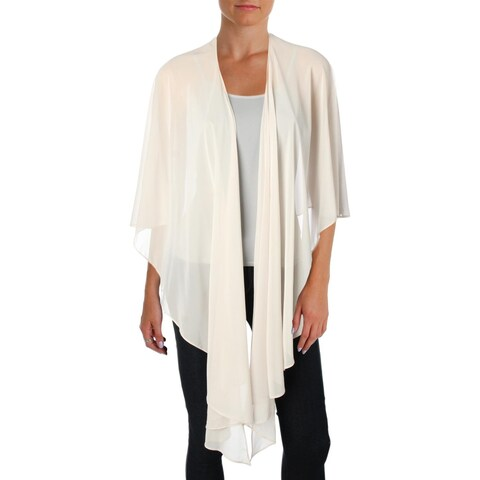 Tahari ASL Womens Shawl/Wrap Sheer Special Occasion - M