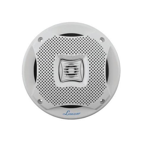 Lanzar aq5cxw lanzar 5.25 2-way marine speakers 400w white
