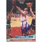 Ken Norman Los Angeles Clippers 1993 Fleer Ultra Autographed Card This item comes with a certifica