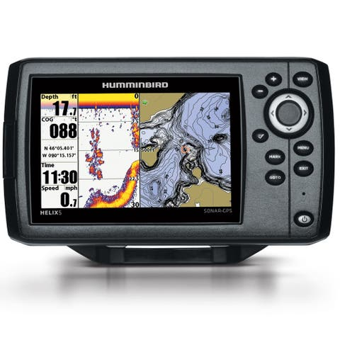 Humminbird HELIX 5 DI G2 Chirp GPS Combo w/ 5 Color TFT Display 410220-1NAV