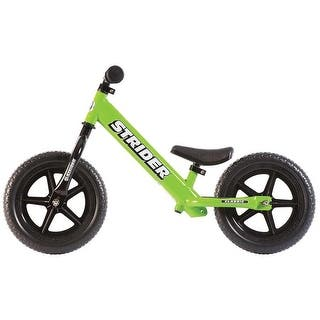 Strider Classic Balance Bike Green - ST-M4GN|https://ak1.ostkcdn.com/images/products/is/images/direct/18fb36e3853694095a4a1708d43c69a8287062b1/Strider-Classic-Balance-Bike-Green---ST-M4GN.jpg?impolicy=medium