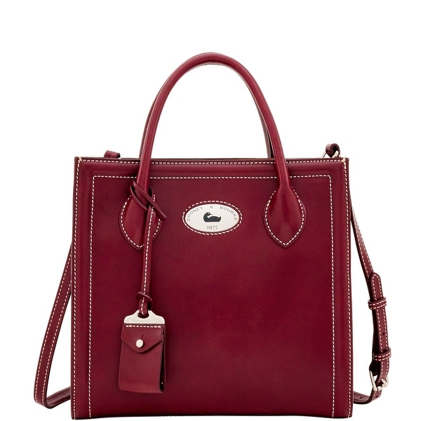 Dooney & Bourke Florentine Toscana Handheld Tote (Introduced by Dooney & Bourke at $368 in Sep 2016) - Bordeaux