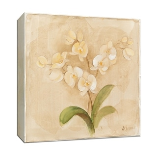 "PTM Images 9-152517  PTM Canvas Collection 12"" x 12"" - ""White Orchids"" Giclee Orchids Art Print on Canvas"