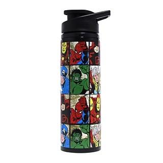 Marvel Grid 25oz Steel Water Bottle