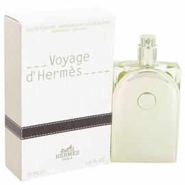 Voyage D'Hermes by Hermes Eau De Toilette Spray Refillable 1.18 oz - Men