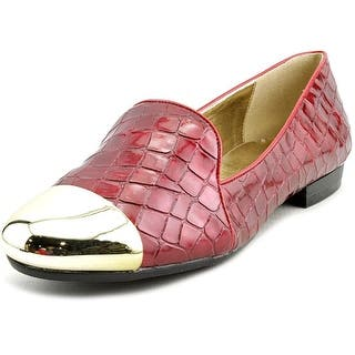 Bellini Cape W Round Toe Synthetic Loafer https://ak1.ostkcdn.com/images/products/is/images/direct/18fe4f4613ed7e472a122588009c61bdc715f88e/Bellini-Cape-Women-W-Round-Toe-Synthetic-Red-Loafer.jpg?impolicy=medium