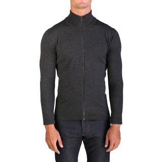 Prada Men's Wool Zip Up Turtleneck Sweater