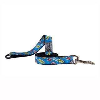"Comic Sounds Dog Leash by RC Pet - 1/2"" Width x 6' Length"
