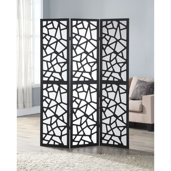 Shop Costway 3 Panel Room Divider Folding Privacy Shoji Screen Pine