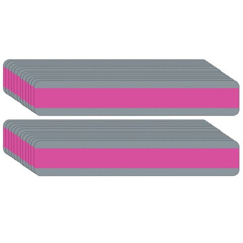 "Double Wide Sentence Strip Reading Guide, 1.25"" x 7.25"", Pink, Pack of 24 - One Size"