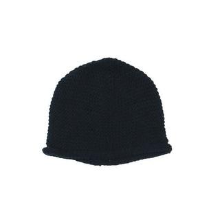 Zara Boys Winter Solid Beanie Hat - XS/S