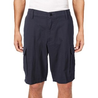 Dockers Mens Cargo Shorts Pleated Flat Front