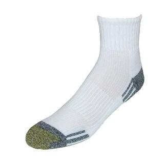 Gold Toe Men's Athletic Outlast Quarter Socks (3 Pair Pack)