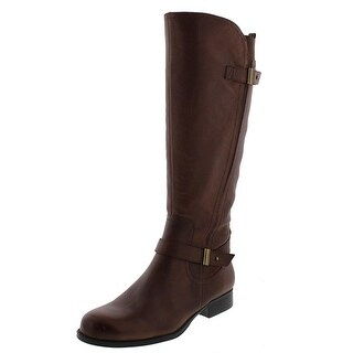 Naturalizer Womens Joan Leather Knee-High Riding Boots