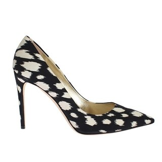 Fausto Puglisi Blue White Stiletto Heels Pumps Shoes - 41