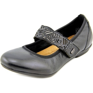 Earth Pilot Women Round Toe Leather Mary Janes