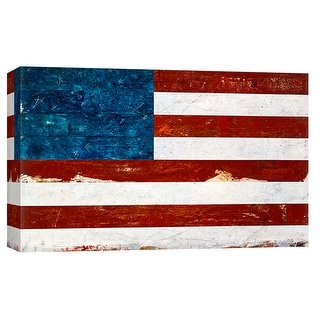 """PTM Images 9-101925  PTM Canvas Collection 8"""" x 10"""" - """"Americana 1"""" Giclee American Art Print on Canvas"""